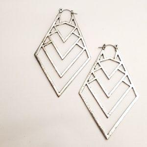 Jewelry - Lot of 5 Silver and Black Jewelry Set Cross Bundle